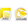 ANSI & UNICODE Supportable
