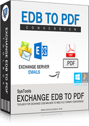 Exchange EDB to PDF